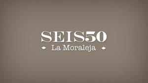 Logotipo de Seis50 en Negativo