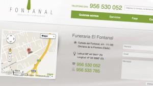 Web Funeraria el Fontanal